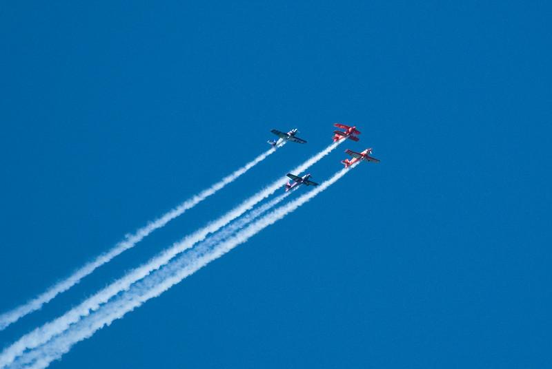 Pre-blue angels air-o-batics