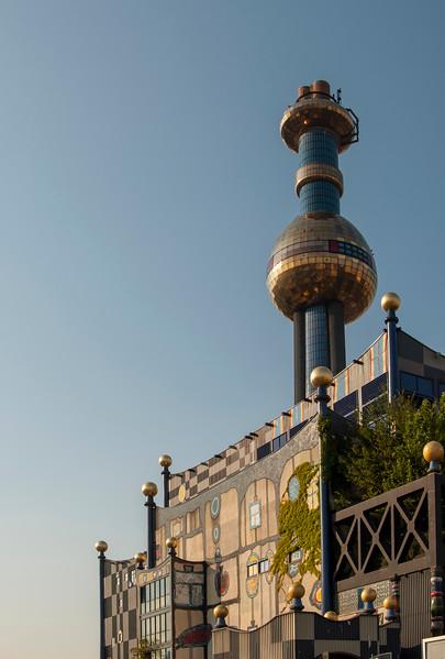 Spittelau Incinerator by Hundertwasser, Vienna