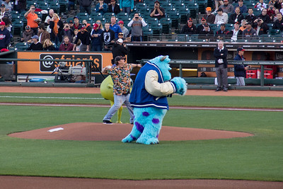 Pixar Night at AT&T Park