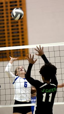 Richmond Heights at Grand Valley girls volleyball 9-10-19