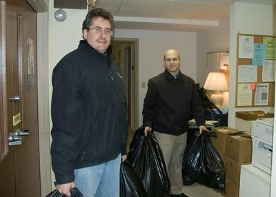 Delivering Easter Baskets in Wilkinsburg 2007