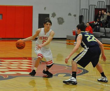 JV West Albany vs South Albany Boys Basketball