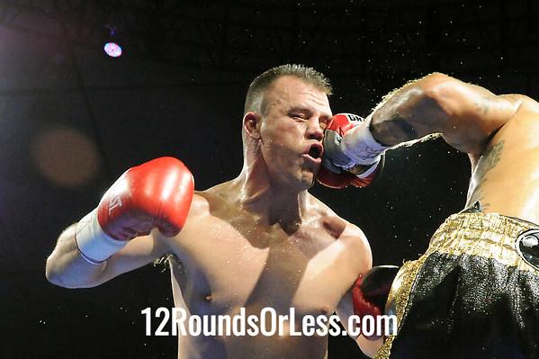 "Bout 5 ""Big Chief"" Morgan Fitch, Pitt, PA via N O, LA -vs- Billy Bailey, Bakersfield, CA Super Middleweights"