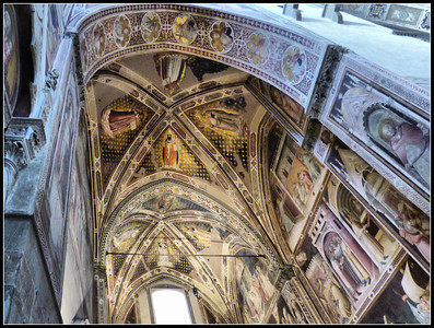 Florence - Santa Croce (interior)