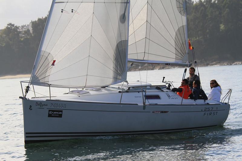 257 FIRST Dellyna 74-CO-1-3-11 LEXUS BREOGAN 25.7 5 FIRST