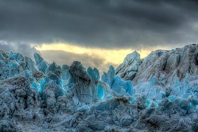 Hubbard Glacier, Alaska (HDR), July 26, 2012