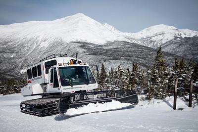 Mt Washington by Snowcat in Winter