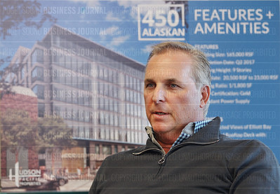 Victor Coleman, chief executive and president of Hudson Pacific Properties, is pictured in Seattle, Wash.
