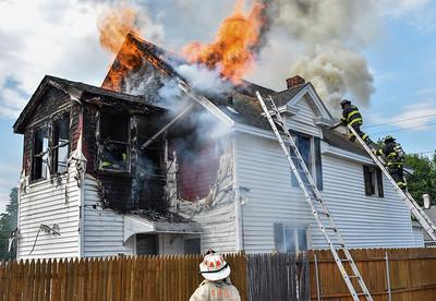 3 Alarm Structure Fire - Abbott Ave, Fitchburg, Ma - 5/21/21