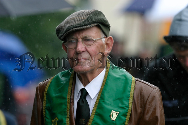 Frank Rea from Warrenpoint at the foresters parade in Rostrevor