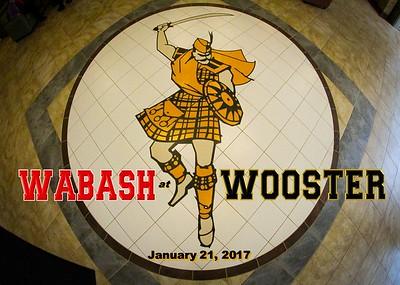 2017 Wabash at Wooster (01-21-17)