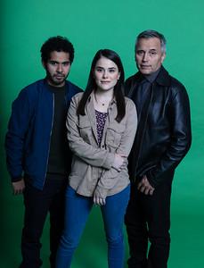 García, Diana y Lorenzo