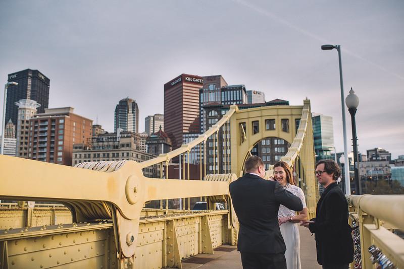 Pittsburgh Elopement Photographer - Monaco Bridge Downtown - Hadley-215.jpg