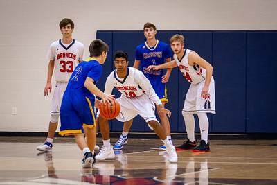 BACS Varsity Boys Basketball 01.03.19