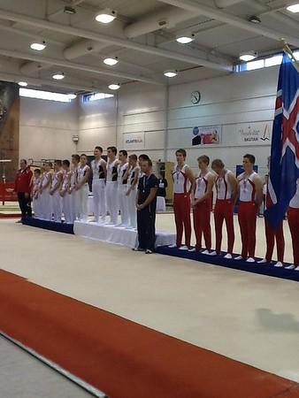 2012 - NM U16, áhaldafimleikar