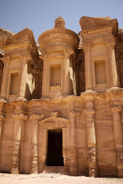 The stunning Ad-Dayr, aka The Monastery. Still in such good condition, Petra, Jordan.