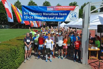 30. Sri Chinmoy 12+24 Stunden-Lauf Basel 2018