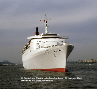 QE2 in grey Aug 1982