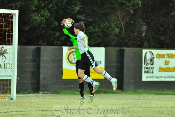2015 03 24 Varsity Soccer vs RNE