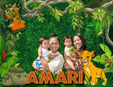 Amari 1st Bday Party