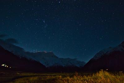 Mount Cook Sky