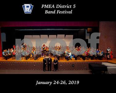 PMEA District 5 Band Festival 2019