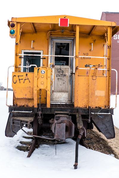 Abandoned Railway Car