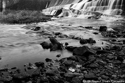 Union Pond Waterfall