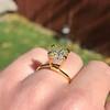 2.10ct Light Yellow Antique Peruzzi Cut Diamond, GIA W-X SI2 34