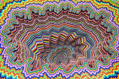 pschadelic art