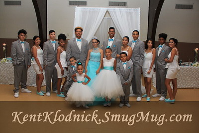 Quinceanera Family and Friends