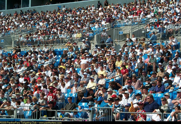 Panthers vs. 49ers October 22nd 2000