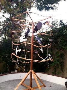 Spinning bird cage