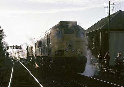 Orcadian railtour, 1972
