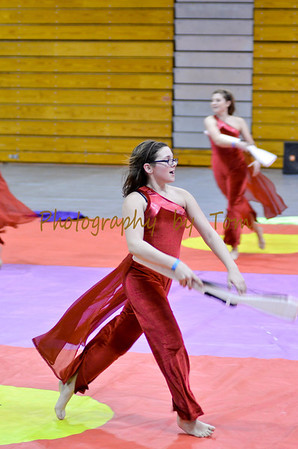 Fort Zumwalt North HS Winter Guard