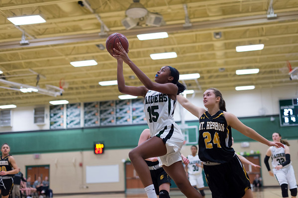 2/13/18 - Atholton Girls Varsity Basketball vs Mt. Hebron