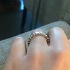 1.10ctw Round and Baguette Diamond Eternity Band 26