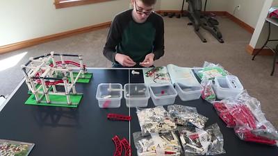 Lego Roller Coaster