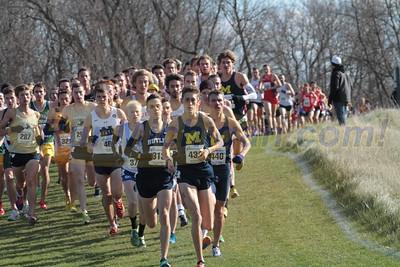 Mens 10K @ 1200m - 2015 NCAA D1 XC Great Lakes Regional