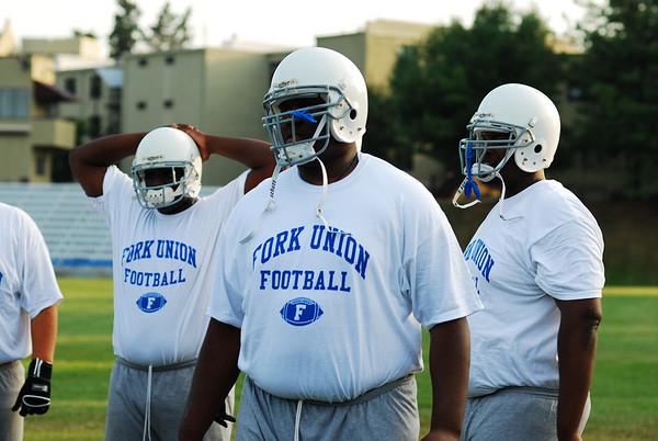 Football practice, August 17