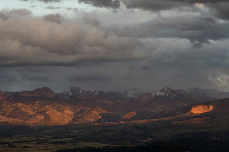 Storm Clouds over the San Juan Mountains