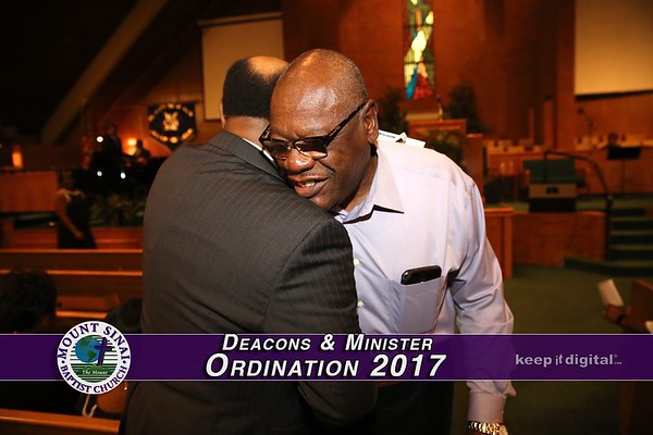 Deacons and Minister Ordination 2017