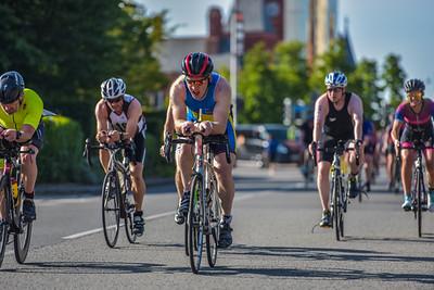 Cardiff Triathlon - Bike - Lloyd George Avenue - Between 8.20 - 8.45