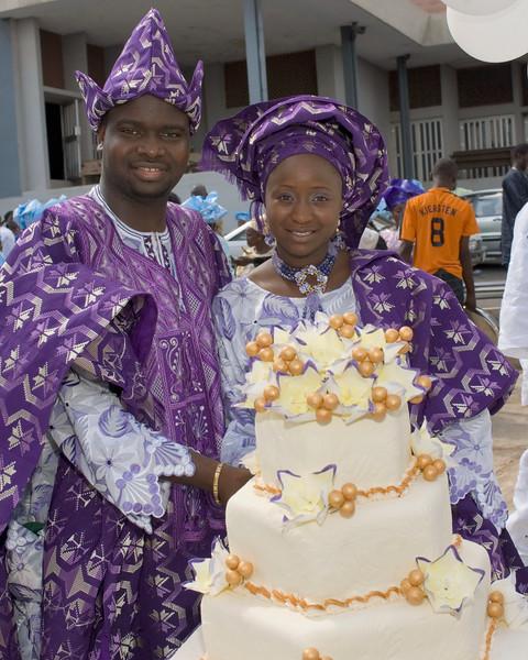Omolara & Tunde  Cathedral of Saint James, Ibadan, Nigeria