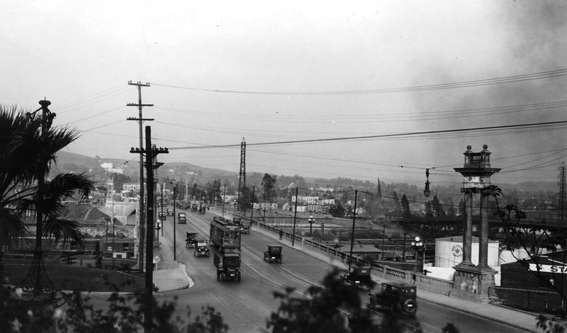 1922, View from Elysian Park