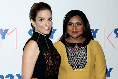 New York, NY - September 16:  The 92nd Street Y: Mindy Kaling In Conversation With Tina Fey, New York, USA.