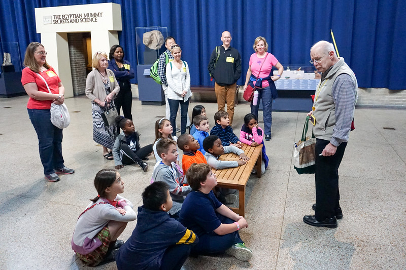 Field Trip to Penn Museum (2nd & 7th Grade)