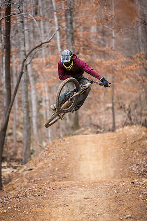 Send It Saturday and Knoxville Senders End of the year Session at Windrock Bike Park 20171209