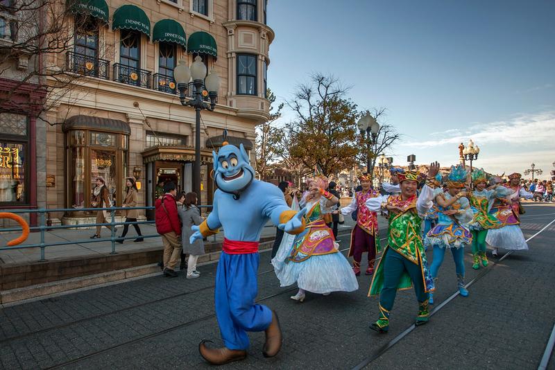 Tokyo Disneyland character parade. Editorial credit: Andreas H / Shutterstock.com