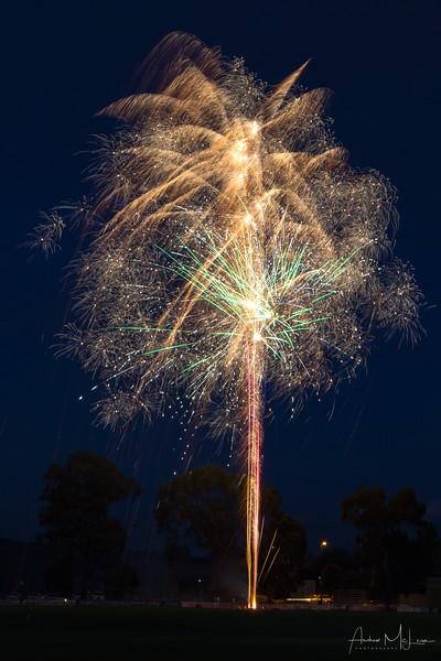 2017 Christmas Eve Fireworks